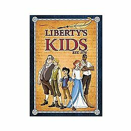 Liberty's Kids - The Complete Series (DVD, 2008) NEW & SEALED W/SLIPCOVER!