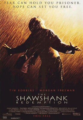THE SHAWSHANK REDEMPTION - MOVIE Art Silk Poster 12x18 24x36