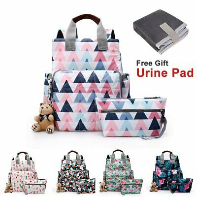 2019 Luxury Large 30L Mummy Maternity Nappy Diaper Bag Baby Bag Travel Backpack