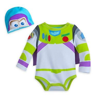 18-24M 12-18 6-12 NWT Disney Store Buzz Lightyear Baby Shoes Costume 0-6