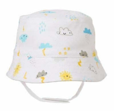NWT Gymboree Newborn Essentials Hat Storm Bucket Strap SZ NB,0//3,6//12M