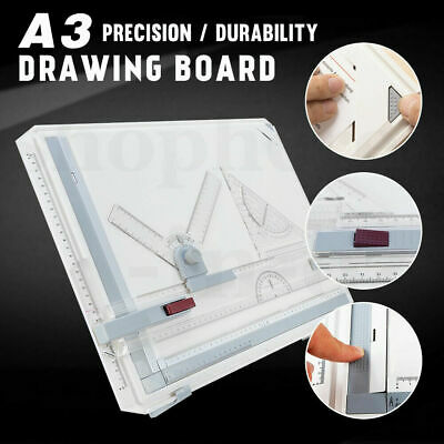 Portable A3 Art Drawing Board Tool Square Table Parallel Motion Adjustable Angle