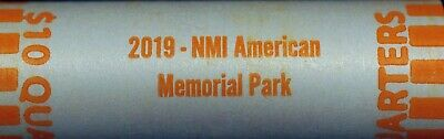 2019 D AMERICAN MEMORIAL PARK NORTHERN MARIANA ISLANDS QUARTER ROLL Plus Extras!