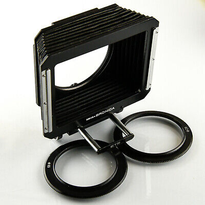 Bronica ETR Lens Hood / Compendium 40-250mm with 58 and 62mm adapters