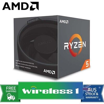 AMD Ryzen 5 2600 6 Core AM4 3.9GHz CPU Processor with Wraith Stealth Cooler