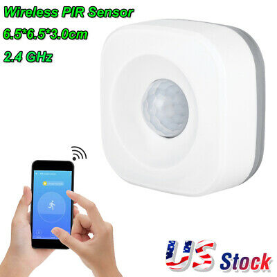 Wireless WiFi Smart Motion Sensor Alarm PIR Infrared Detector Sensor Burglar