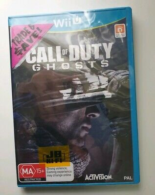(Wii U Game) CALL  OF  DUTY: GHOSTS/ COD (MA) (Shooter) PAL, BRAND NEW SEALED!