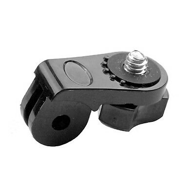 Universal Gopro Accessories 1/4 Tripod Mount Adapter Converter for Car  New