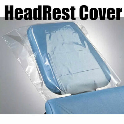 250 Pcs Large Dental Disposable Chair Headrest Covers Sleeve Sheath Protect New