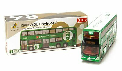 TINY LIMITED EDITION KMB ADL Enviro 500 MMC Hybrid 1A Bus DIECAST CAR CITY