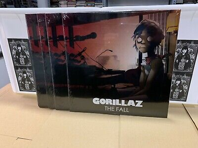 Gorillaz Lp The Fall Sealed Rsd 2019