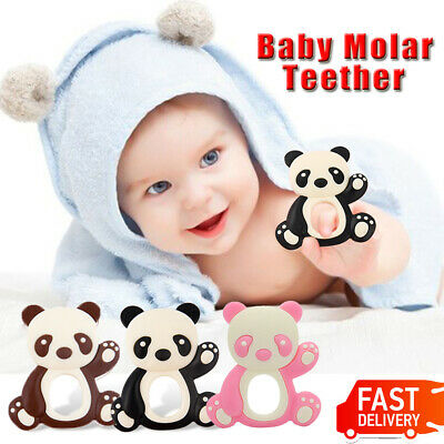 Baby Silicone Mitten Teething Mitts Teething Glove Candy Wrapper Soft Teether UK