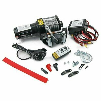 New!! 12V 3000Lbs 1360Kg Electric Winch Steel Cable 4X4 4Wd Truck Boat Atv Utv