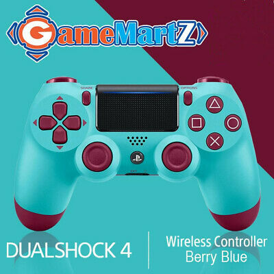 For Sony Playstation 4 Controller  PS4 Wireless Gamepad - Berry Blue Gamer Gifts