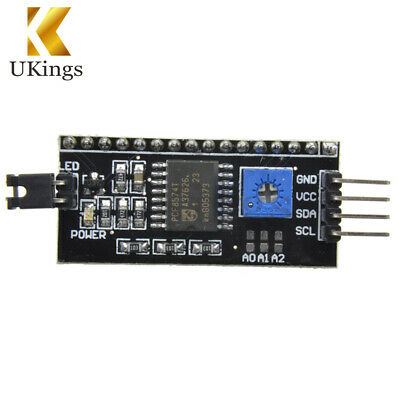 1/2/5/10PC 1602LCD I2C IIC TWI SP​​I Serial Interface Board Module For Arduino K
