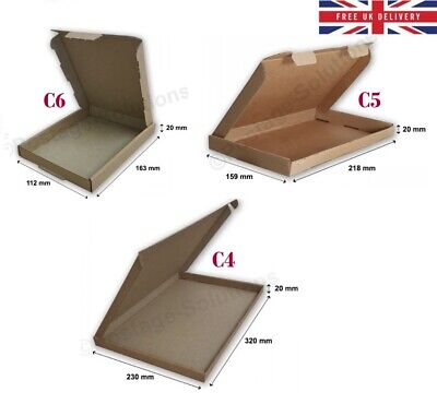 A4 A5 A6 Royal Mail Large Letter Pip Postal Mailing Box C4 C5 C6 - Best Price