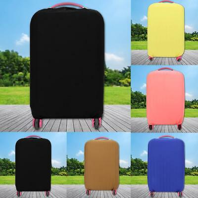Fashion Travel Luggage Cover Protector Elastic Seersucker Suitcases Dust-Proof