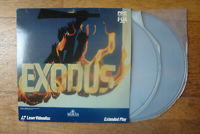 Exodus - Extended Play - Laser Disc Doble