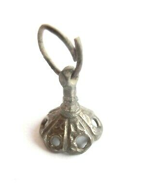 Amazing IRON AGE Hallstatt Culture ANCIENT Celtic Silver EARRING > Ancient relic