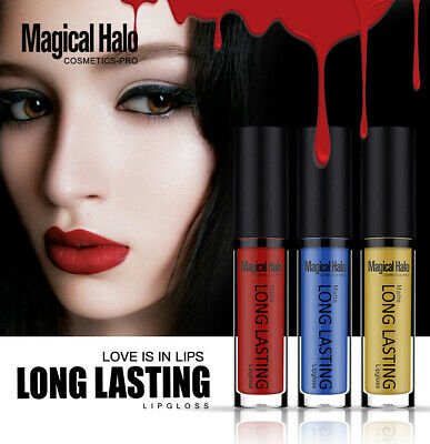 Magical Halo Matte Lip gloss Nude Lipstick Super Long Lasting Makeup Waterproof