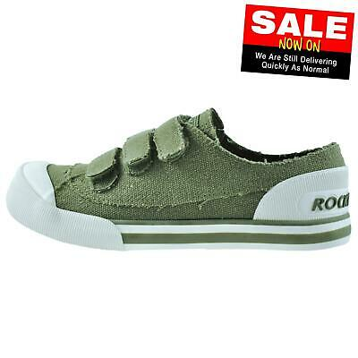 Rocket Dog Jagg Women's Casual Fashion Pumps Plimsolls Trainers Olive