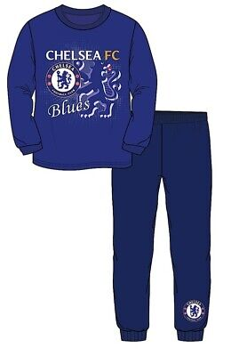 Official Chelsea Blues Boys Girls Football Club FC Pjs Pyjamas Sleepwear New