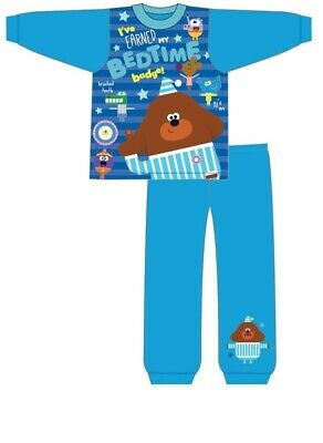 Boys Official Genuine Hey Duggee Hug Pyjamas Pjs Cartoon Sleepwear CBeebies New
