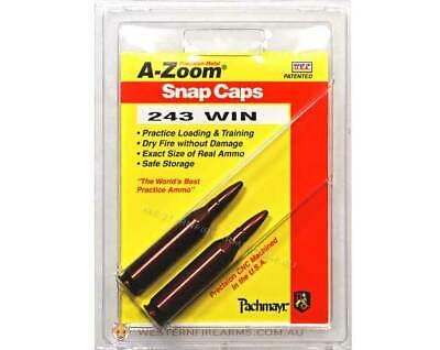A-Zoom Precision Metal Snap-Caps .243Win Hunting