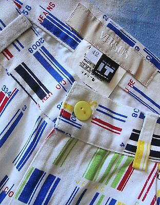 TROUSERS vintage VERSUS VERSACE made in Italy TG 28-42 circa S