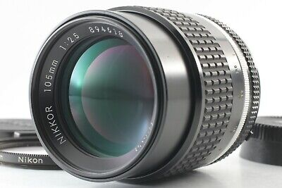 **MINT** Nikon Nikkor AI-S AIS 105mm f/2.5 For F Mount SLR From JAPAN
