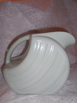 Vintage Moss Green Alamo Art Pottery Art Deco Water Jug Pitcher~San Antonio,TX
