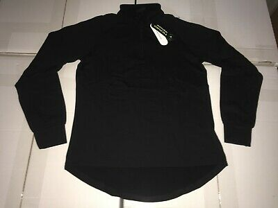 CLEARANCE New Ladies Tombo Zip Neck Tricot Sports Top. Black x 17. E65.