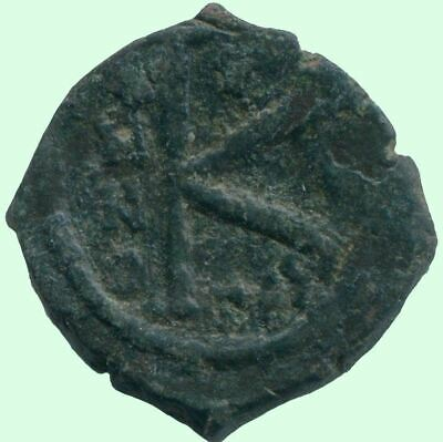AUTHENTIC BYZANTINE EMPIRE  Æ Coin 5 g/19.3  mm ANC13585.16