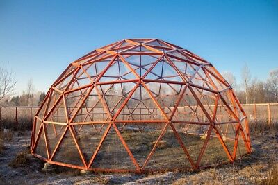 V4 (1/2)  GEOSOTA Kit (Geodesic Dome Connectors)