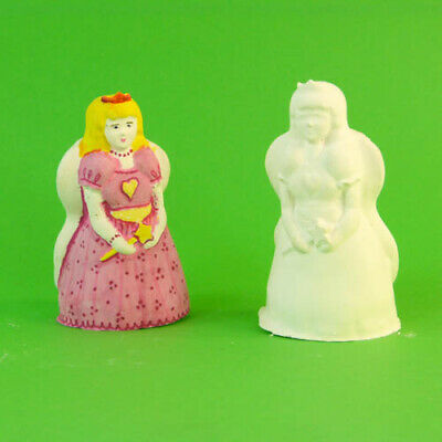 Plaster of Paris/Candle Latex Rubber Mould  Fairy Princess ( 8.5cm high)   Craft