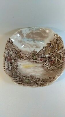 """Vintage Johnson Brothers Old English Countryside Soup Bowl 7 1/2"""""""