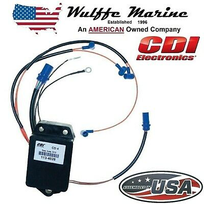 CDI Electronics 113-4028 Johnson/Evinrude Power Pack-4 Cyl