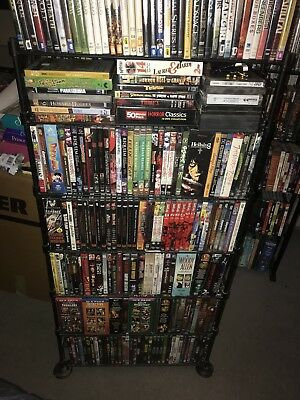 World's Coolest Lot Thousands + Rare Dvds Anime / Cult Horror Sci-fi Japan Indi