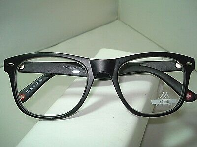 dd2b5e0ba71 READING GLASSES VIEW Montana half moon Funky with Lenses Aspherical ...