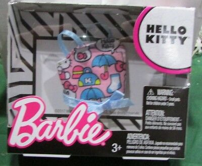 New **Barbie** Doll Clothes And Accessories ( Hello Kitty )