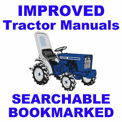 Ford 2000 3000 4000 5000 7000 Tractor Workshop Service Repair Manual Tractor Manuals & Publications Parts Cat Business, Office & Industrial