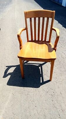 Vtg. Murphy Chair Lawyer/courthouse/banker/teacher/office- Beautiful Oak
