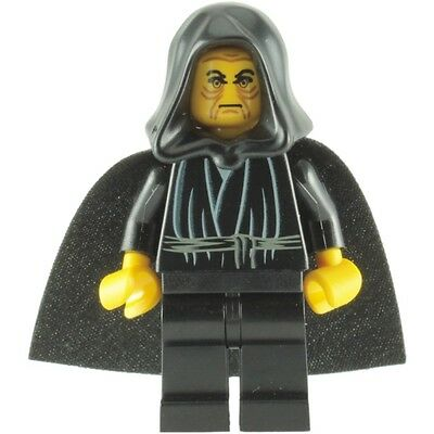 rare mini figurine minifig lego star wars palpatine darth sidius dark 7200 7166