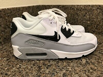 half off 99566 fe90a Nike Air Max 90 Essential Women s White Black Wolf Grey 616730-111 Shoe