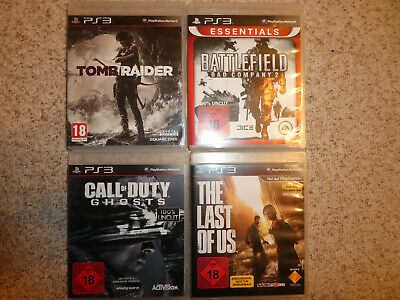 Sony Playstation PS3, Spiele, Spielepaket USK18, Call of Duty, Battlefield u.a.