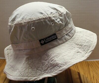 7ecfdd28e0df9 Womens Vintage Columbia Bucket Hat Beige Size Xl Usa Made Very Good  Condition