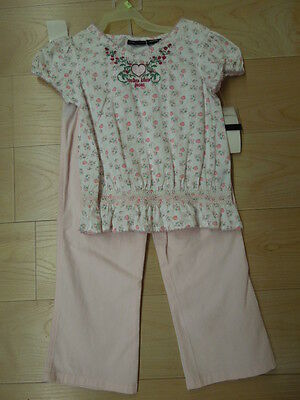 New - Calvin Klein 2-Pc Baby Set - Great Gift For 3T  #3812070  Pink   - $17.95