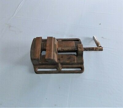 Machinist Drill Press Vise, 4 inch X 4 inch, Free Shipping