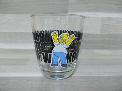 "Vintage collection glass Hoomer WOOHOO ! - ""The Simpsons"" 2013"