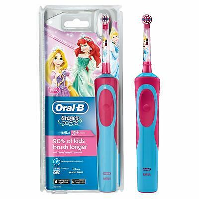 Oral-B Stages - Disney Princess - Rechargeable Toothbrush for Kids